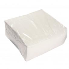 Салфетки белые однослойные 22 × 21 см / 450 шт.