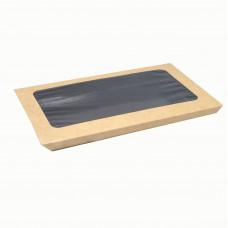 Конверт с окном для подложки ламинированной 400 мл / 300 шт