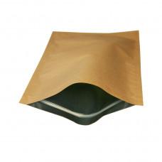 Пакет 210*380 с клапаном, ZIP с алюминиевым покрытием внутри, покрытие снаружи бумага /250шт