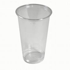 Стакан РЕТ для лимонада и мороженого Петруцалек Прозрачный диаметр - 9,2 см 1000 шт/уп (1030764)