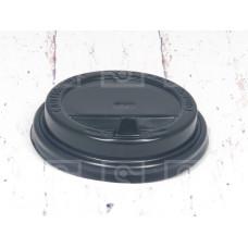 Крышка черная с питейником 350 мл d-90/ 500 шт