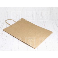 "Бумажный пакет с ручками ""Крафт""  240*140*280 мм/ 300 шт"