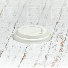 Крышка для бумажного стакана с поилкой КР-70 / 25х100 шт/2500 шт