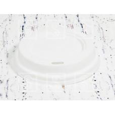 Крышка белая для стаканов без питейника 350 мл. d-90/ 500 шт.