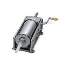 Ручной колбасный шприц для мясоперерабатывающей промышленности Mainca TP-5 Серый Емкость цилиндра 5 л